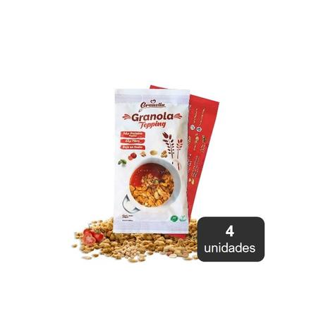 Granola Topping Salado Pack 4 X 30 Grs 0