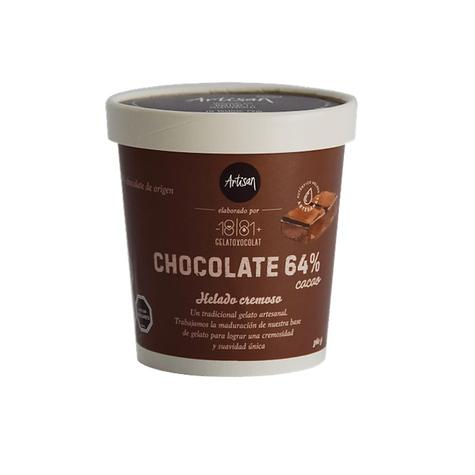 Helado Chocolate 64% Cacao 476 Ml 0