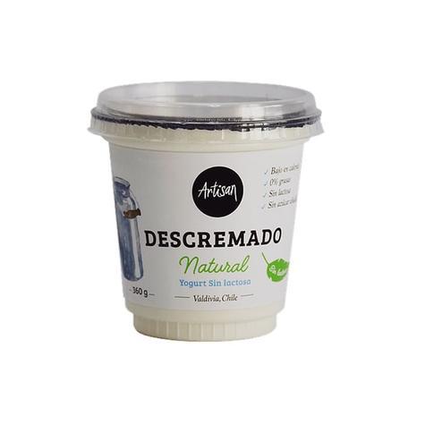 Yogurt Natural Descremado 360 Grs 0