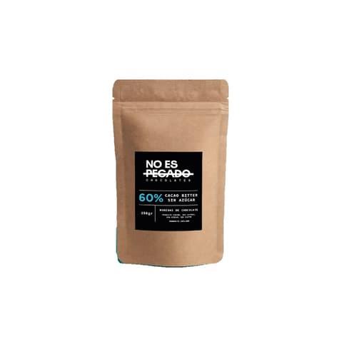 Monedas de chocolate 60% cacao sin azúcar delivery entre 20 y 60 minutos