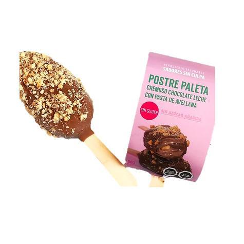 Helado Paleta Cremoso Chocolate Leche Con Pasta De Avellana 1 Un 0