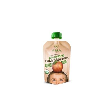 Compota de manzana orgánica de productor local despacho entre 30 y 60 minutos
