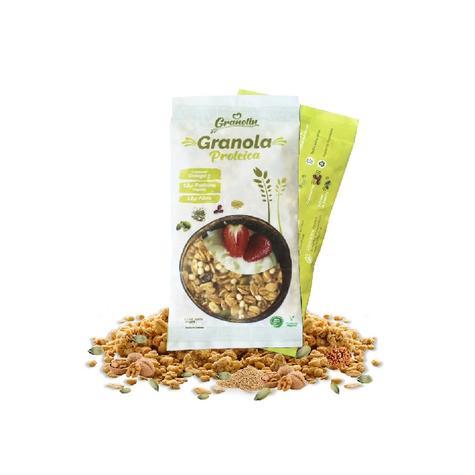 Granola Proteica Snack 30 Grs 0