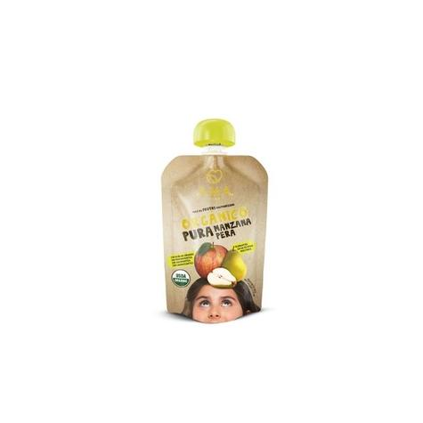 Compota de manzana pera orgánica de productor local despacho entre 30 y 60 minutos
