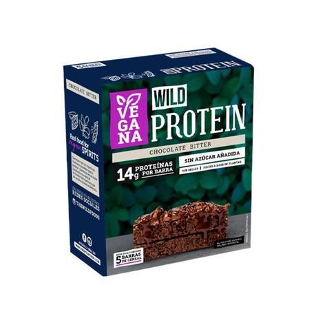 Barrita De Proteína Vegana Chocolate Bitter Caja 5 Un 0