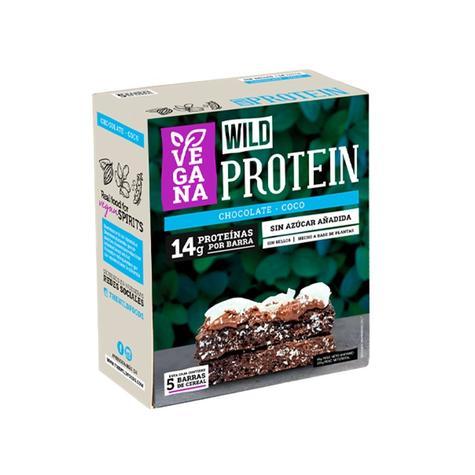 Barrita De Proteína Vegana Chocolate Coco Caja 5 Un 0