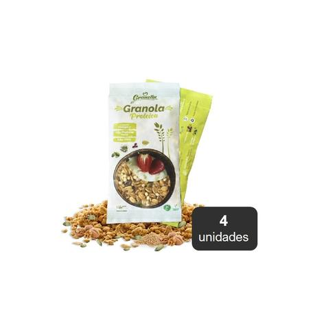 Granola Proteica Pack 4 X 30 Grs 0