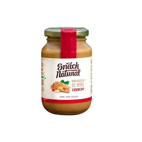 Mantequilla De Maní Crunchy 250 Grs 0