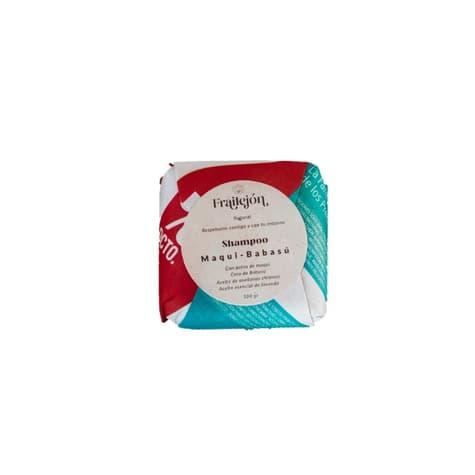 Shampoo en barra maqui babasu para cabellos teñidos de productor local despacho entre 30 y 60 minutos