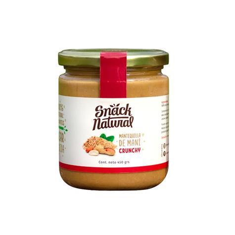 Mantequilla De Maní Crunchy 450 Grs 0
