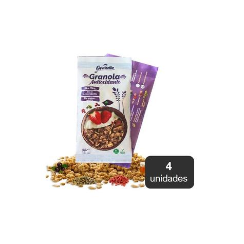 Granola Antioxidante Pack 4 X 30 Grs 0
