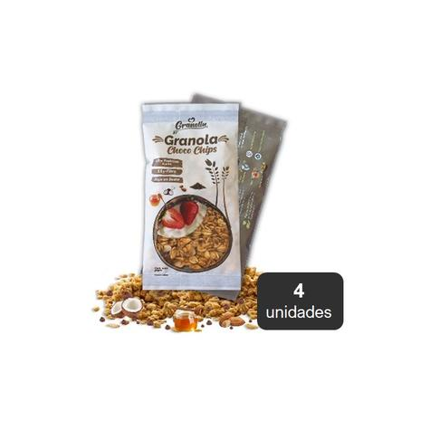 Granola Chocochips Pack 4 X 30 Grs 0