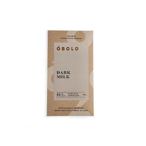 Chocolate óbolo Dark Milk 51% Cacao 80 Grs 0