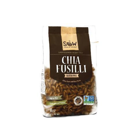 Pasta De Chía Fusilli 277 Grs 0