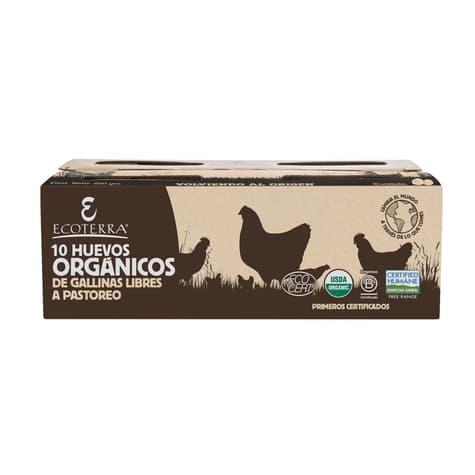Huevos orgánicos de gallina libre de productores locales delivery entre 20 y 60 minutos