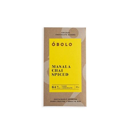 Chocolate óbolo Masala Chai Spiced 64% Cacao 80 Grs 0