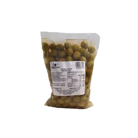 Aceituna Sevillana verde entera 1 kilo de productor local con despacho entre 30 y 60 minutos