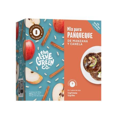 Mix Panqueque De Manzana Y Canela 8 Un 0