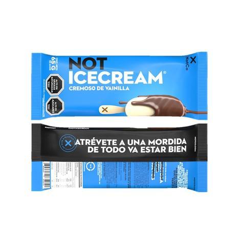 Pack Paleta Not Icecream Cremoso De Vainilla 4 Un 0