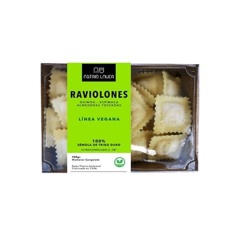 Raviolones rellenos elaborados de manera artesanal en chile delivery entre 30 y 60 minutos