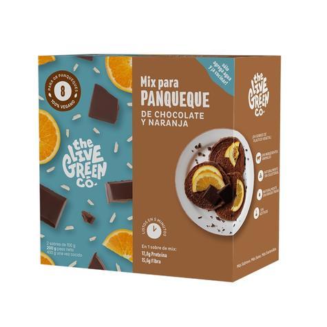 Mix Panqueque De Chocolate Y Naranja 8 Un 0