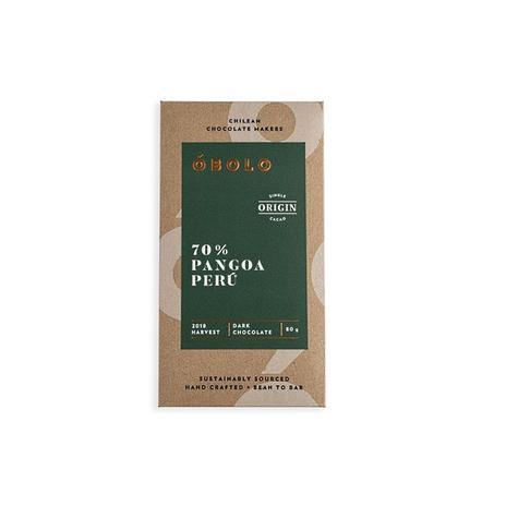 Chocolate óbolo Pangoa Perú 70% Cacao 80 Grs 0