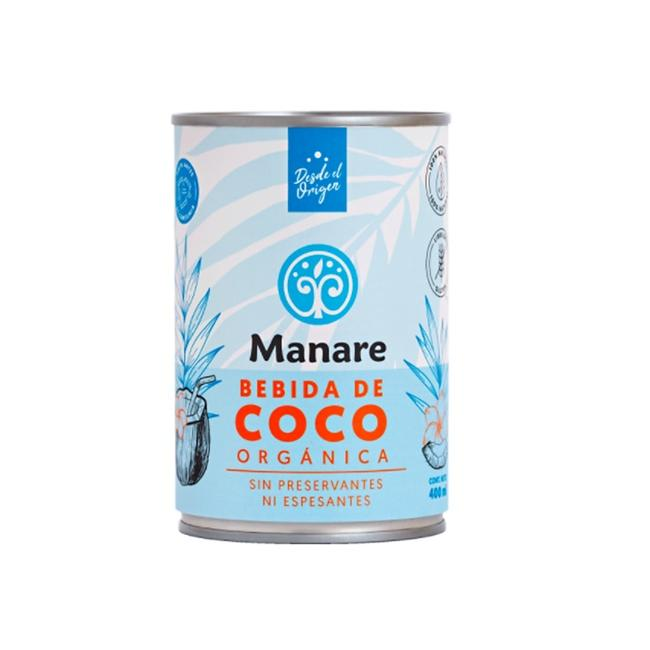 Leche Coco Orgánica 400 Ml 0