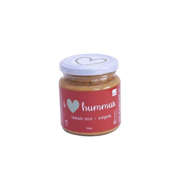 Hummus Tomate Seco Orégano 220 Grs 0