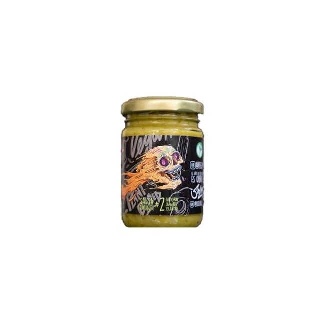 Salsa picante de ají verde y jengibre de productor local delivery entre 20 y 60 minutos
