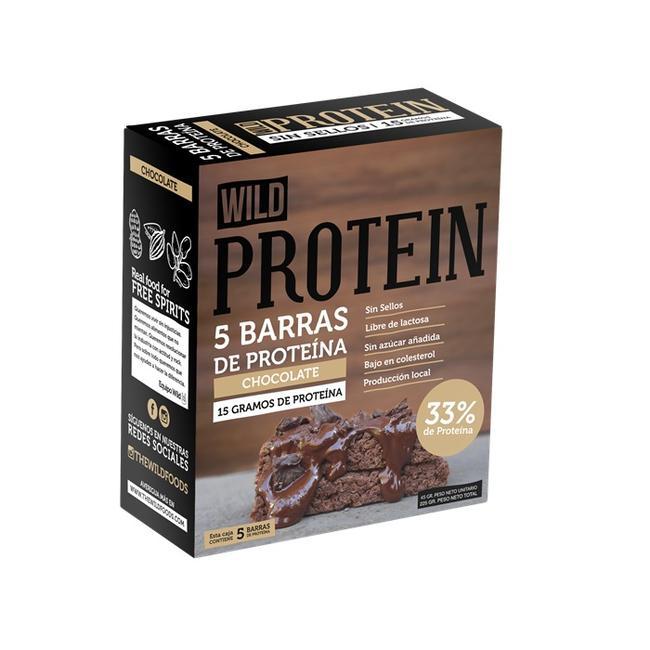 Barrita De Proteína Chocolate Caja 5 Un 0