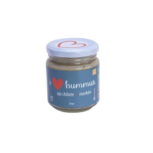 Hummus Ajo Chilote Merkén 220 Grs 0