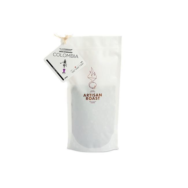 Café Descafeinado Orgánico Colombia Molido 250 Grs 0