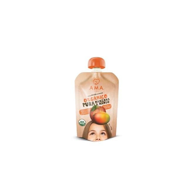 Compota orgánica manzana mango de productores locales delivery entre 20 y 60 minutos