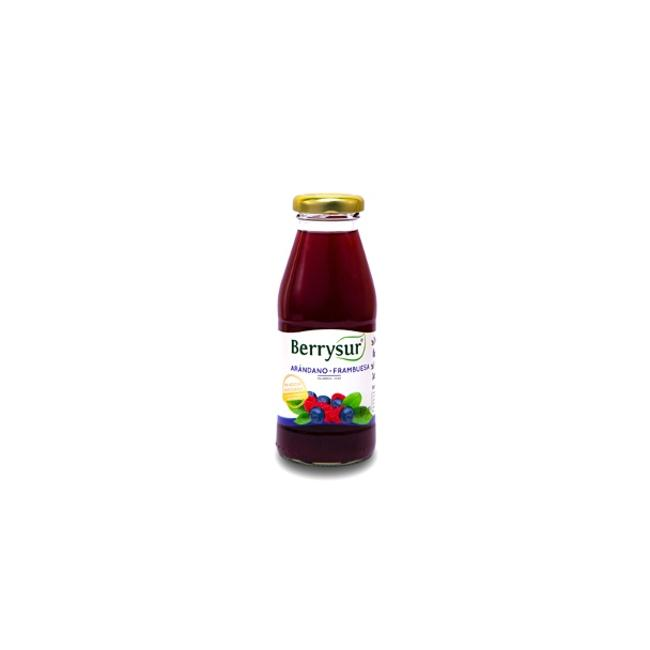 Jugo arandano frambuesa 250 ml de productor local despacho entre 30 y 60 minutos