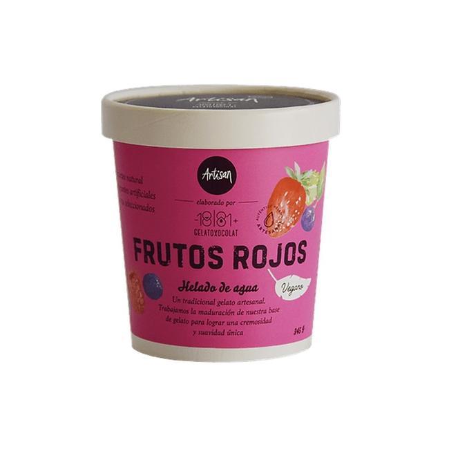 Helado Vegano Frutos Rojos 476 Ml 0