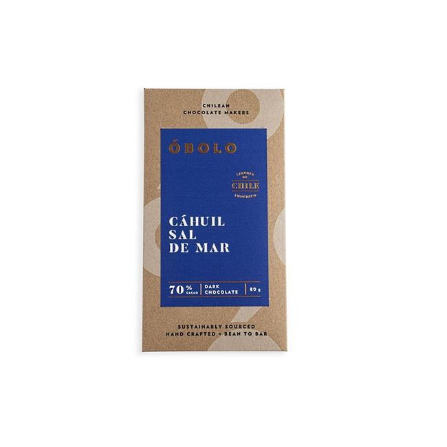 Chocolate óbolo Sal De Cahuil 70% Cacao 80 Grs 0