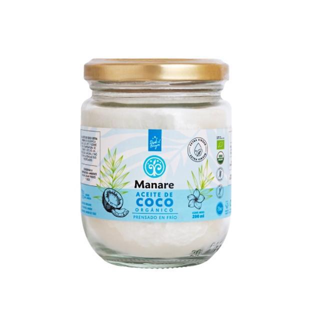 Aceite De Coco Orgánico 200 Ml 0