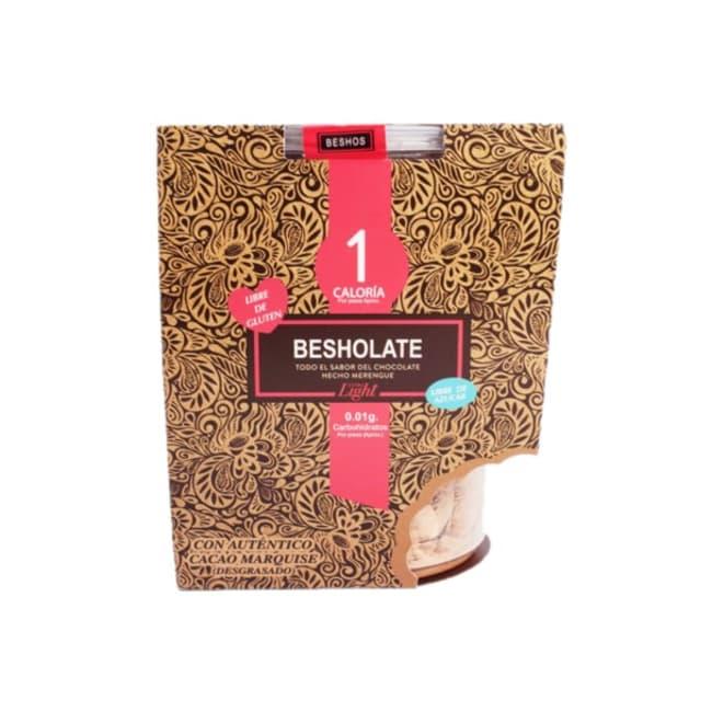 merenguitos light sabor chocolate