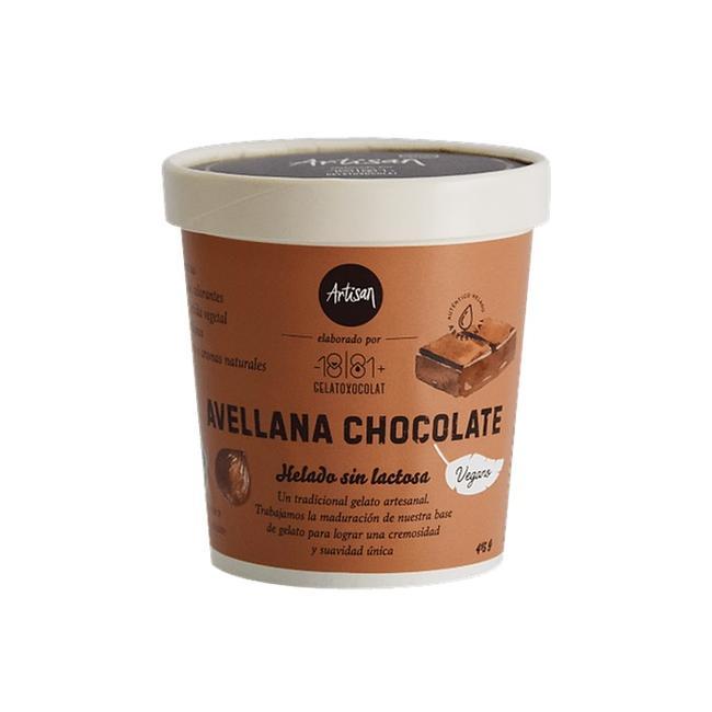Helado Vegano Avellana Chocolate 415 G 0
