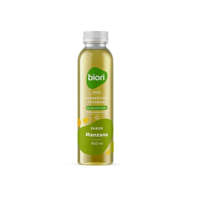 Agua Probiótica Manzana 450 Ml 0