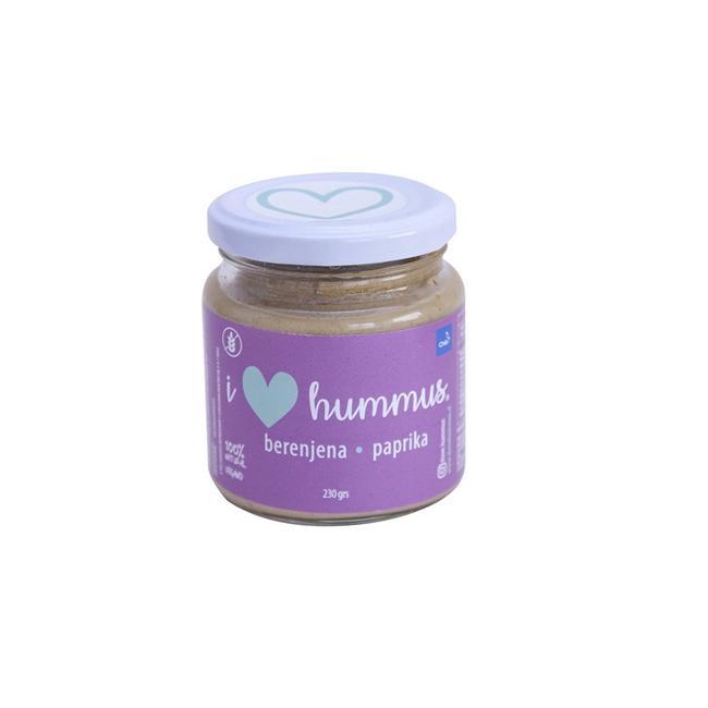 Hummus Berenjena Paprika 220 Grs 0