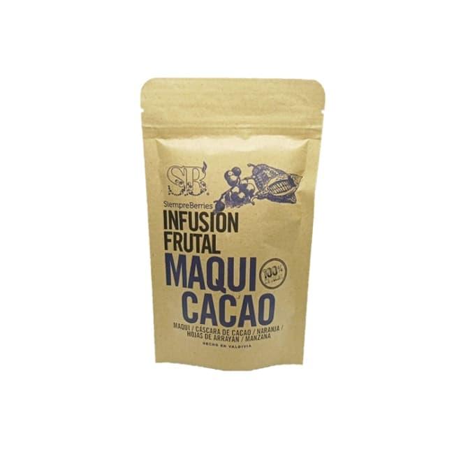 Infusión maqui cacao de productor local delivery entre 20 y 60 minutos